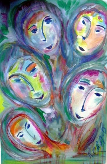 LA fée à 5 visages
